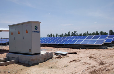 20MW Utility-scale PV Station in 2016, Cambodia
