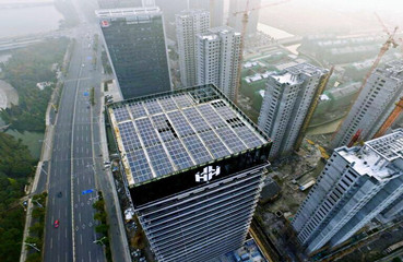 145KW Rooftop-Building Integrated PV Project in 2016, Shaoxing